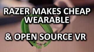 Razer Nabu X Wearable & OSVR Open Source VR Headset - CES 2015