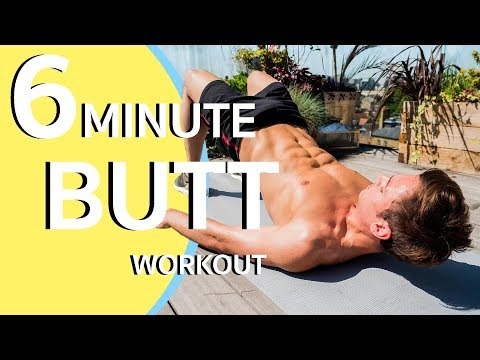 SIX MINUTE BUTT WORKOUT! | Tom Daley