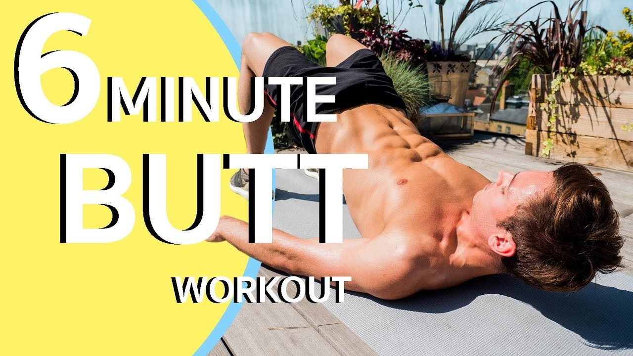 Ass Perfect Video six minute butt workout!   tom daley