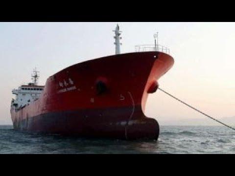 South Korea holding Hong Kong-flagged ship, crew