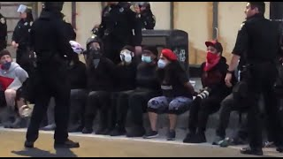 oakland-police-fire-tear-gas-arrest-protesters-condemning-police-killing-george-floyd