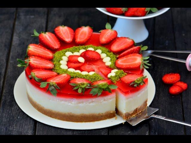 En  Kolay  Cheesecake Tarifi ( Yalanc?  Cheesecake )