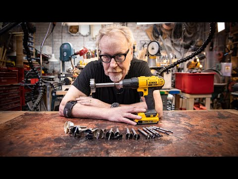 Adam Savage's Guide to Drill Bits!