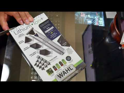 Wahl Lithium Ion Trimmer Review from YouTube · Duration:  4 minutes 23 seconds