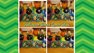Halloween School Lunch Videos