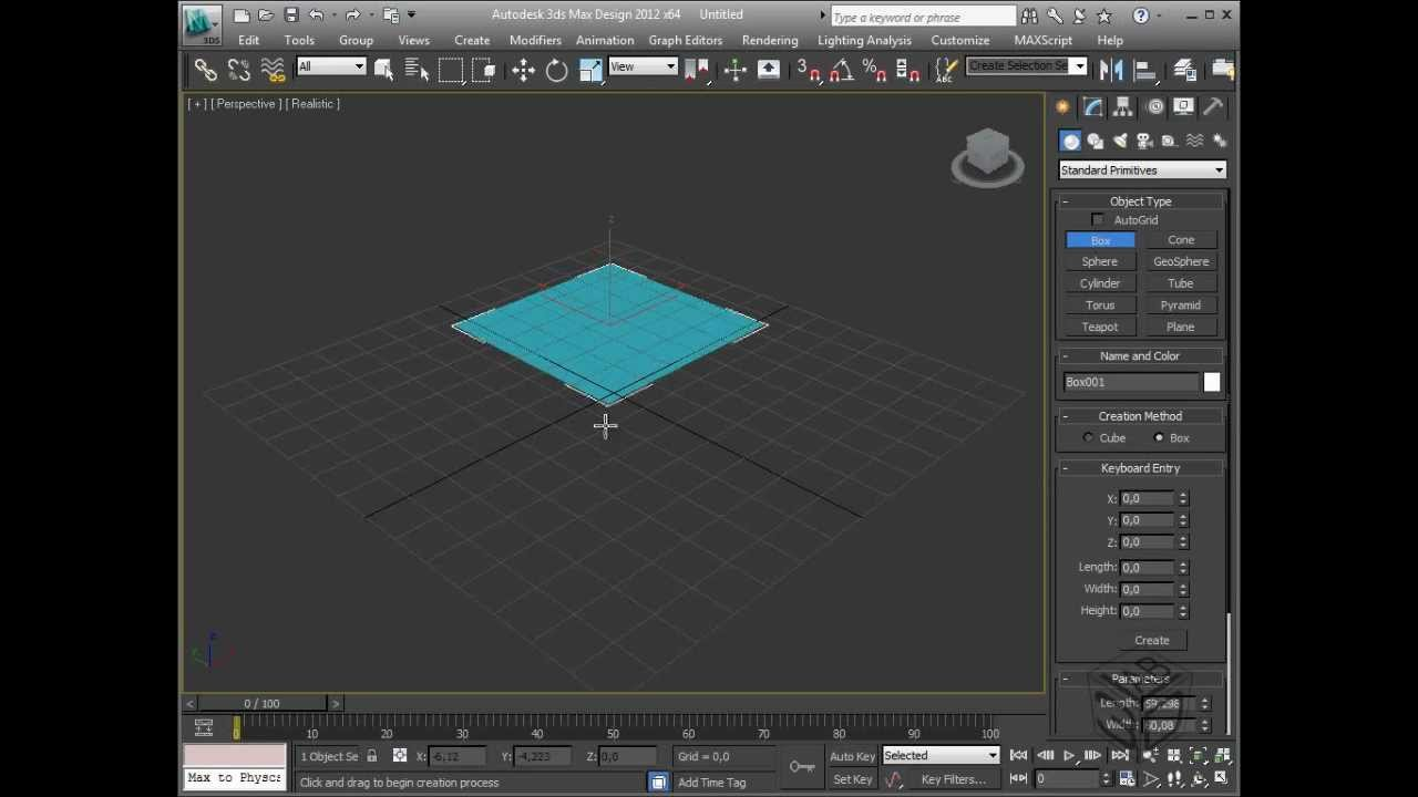 Autodesk 3ds max video training tutorial course command for 3ds max course