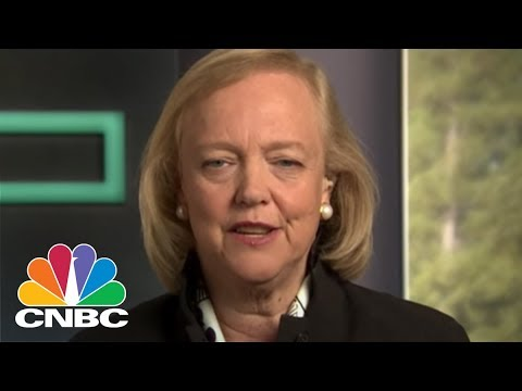 HPE CEO Meg Whitman On Leading HPE Through One Of The Biggest Breakups In Corporate History | CNBC