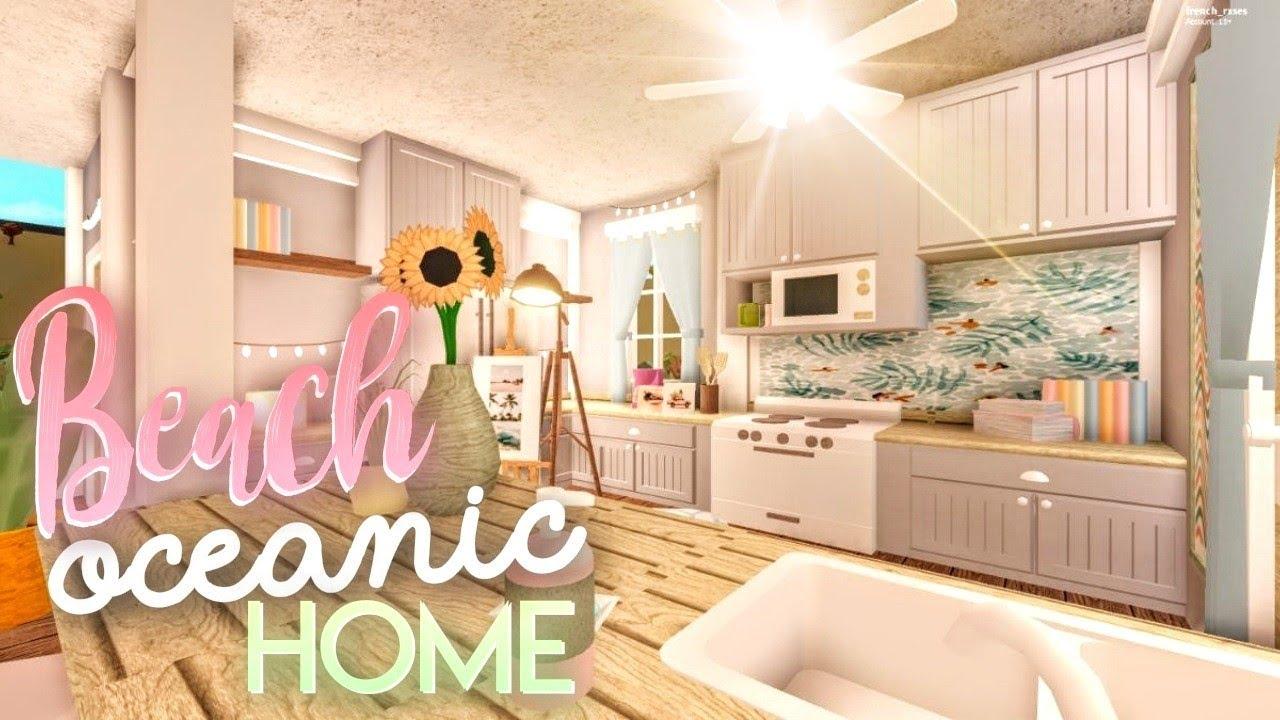 Robloxbloxburg Kitchen Revamp Tour Youtube Kitchen Bloxburg Oceanic Beach Home House Build Youtube