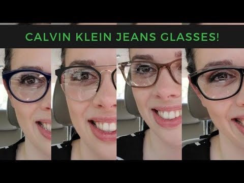Calvin Klein Jeans Glasses Lookbook