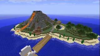 Download #1 Minecraft Timelapse Volcanic Island Mp3 and Videos