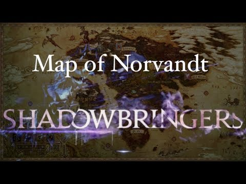 FFXIV: Map of Norvandt! (Discussion for Map in 5.0)