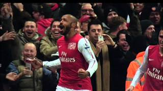 Thierry Henry son grand retour à Arsenal (Février 2012)