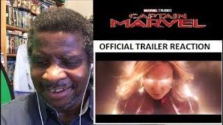 Captain Marvel Official Trailer Reaction