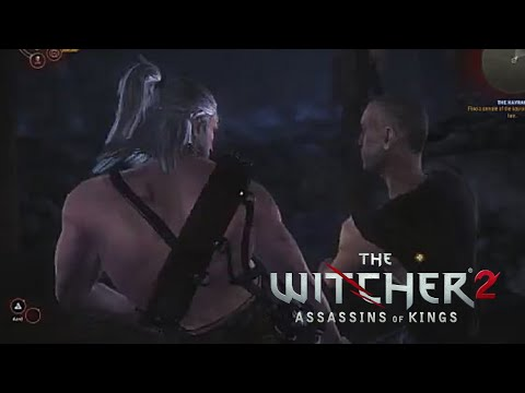 The Witcher 2 gameplay: fist fight