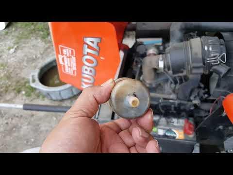 Kubota diesel not staying on   SOLUTION