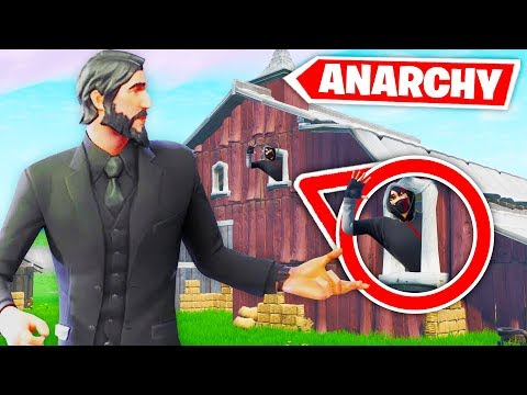 5000 IQ Versteck in ANARCHY ACRES!! Fortnite Hide and Seek!