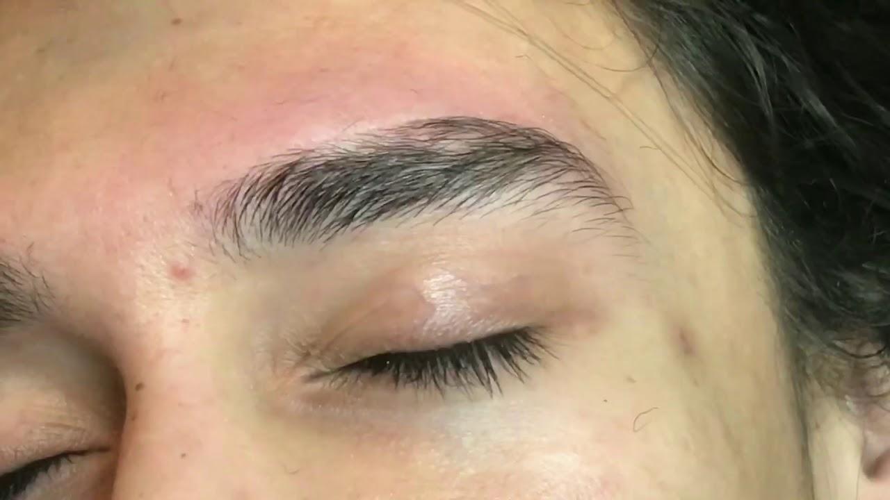 MEN - eyebrow threading
