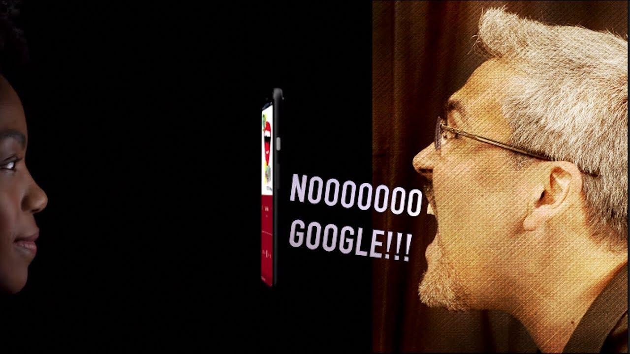 POR QUÉ Google??? este no es el CAMINO correcto!