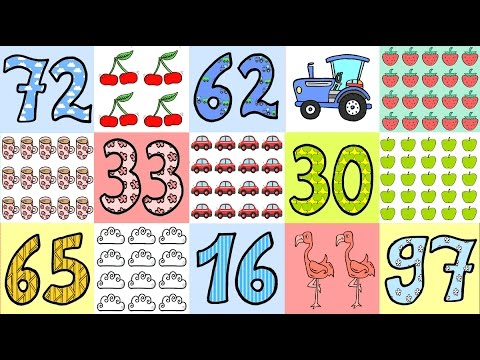 deutsch lernen zahlen bis 100 adjektive substantive german for children numbers