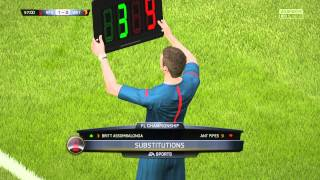 FIFA 15 4K UHD 60FPS Gameplay