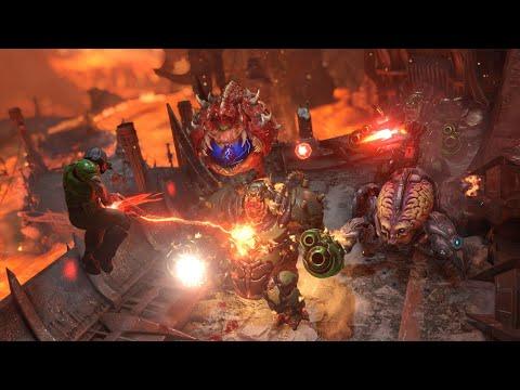 Chrono Strike - Slow Motion Action Showcase | Doom Eternal