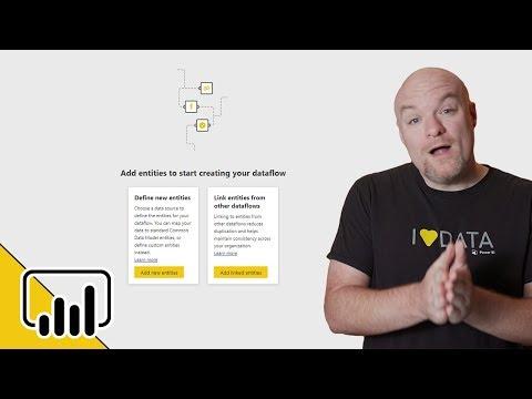 A quick look at Power BI dataflows