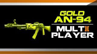 black ops 2 epic gold an94 gameplay how to get gold an 94 camo