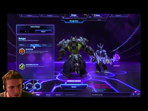 Heroes of the Storm — REHGAR — TANGAR GAMING LIVE STREAM