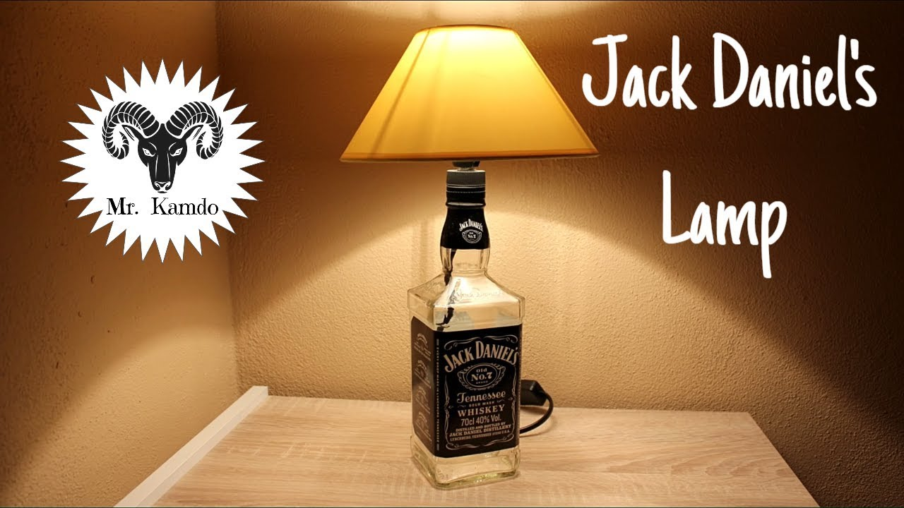 Diy Jack Daniel S Lamp