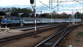 2019/10/18 【ポーランド 推進入区】 インターシティ客車 ヴロツワフ中央駅 | Poland: IC Passenger Cars at Wrocław Główny