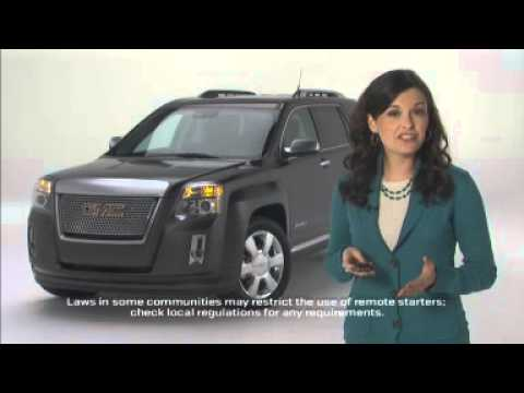 How To Use Remote Start on GMC Acadia