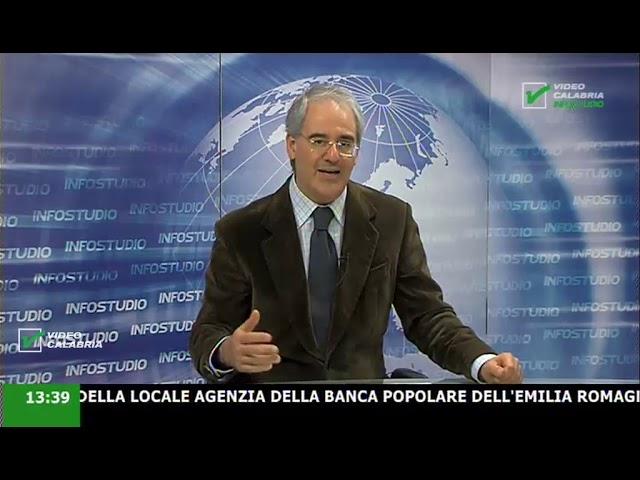 InfoStudio il telegiornale della Calabria notizie e approfondimenti - 29 Gennaio 2020 ore 13.30