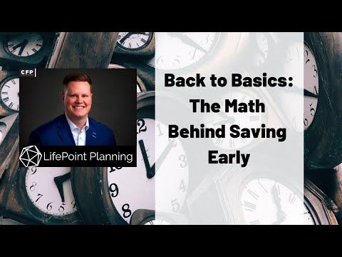 The Math Behind Saving Early
