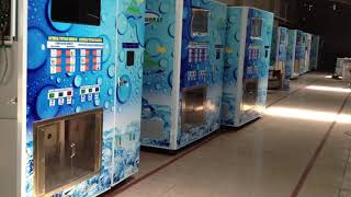 working shop for ice vending machine
