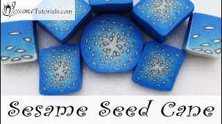 Polymer Clay Sesame Seed Cane Tutorial