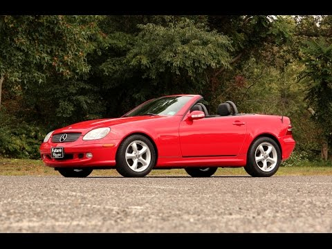 2003 Mercedes Slk320 For Walk Around And Driving Video