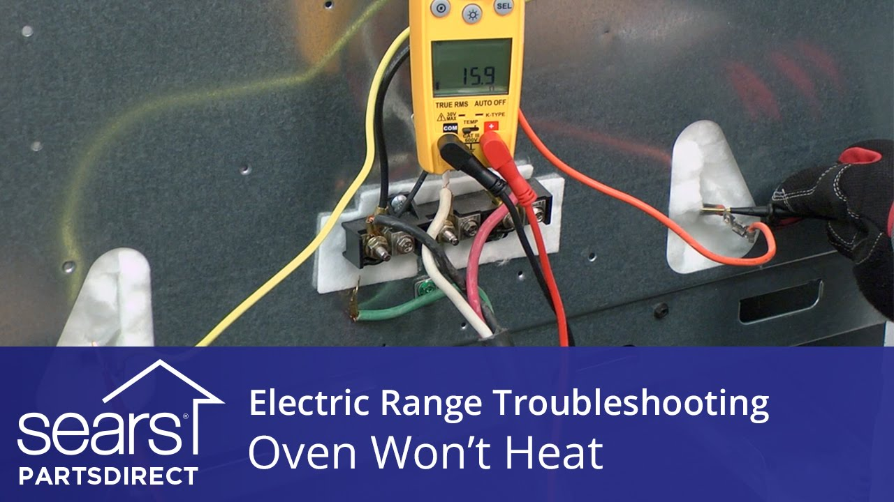 Oven Wont Heat Troubleshooting Electric Range Problems Youtube Style In A 7 Way Rv Wiring Diagram Lighting