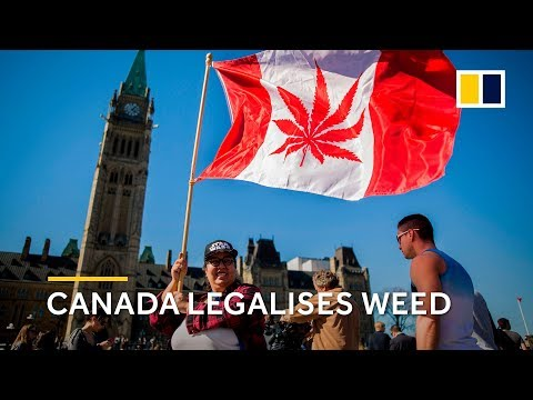 Canada legalises weed