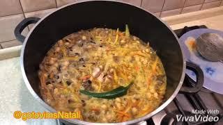 Узбекский плов/Видео рецепт узбекского плова