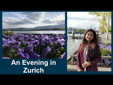 Zurich City Tour || Half Day Trip to Zurich from Lucerne || An Evening in Zurich