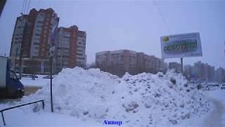 ???? В Воронеже мощный снегопад! 23 января 2018