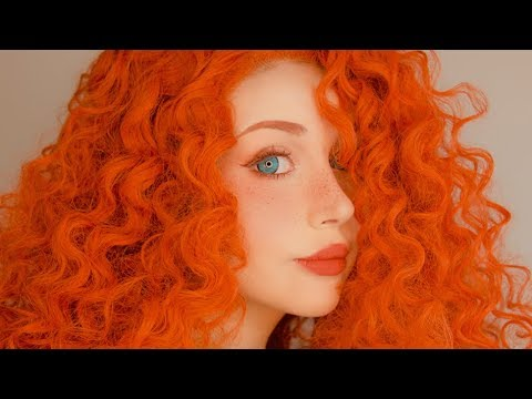 disney brave • merida cosplay makeup tutorial