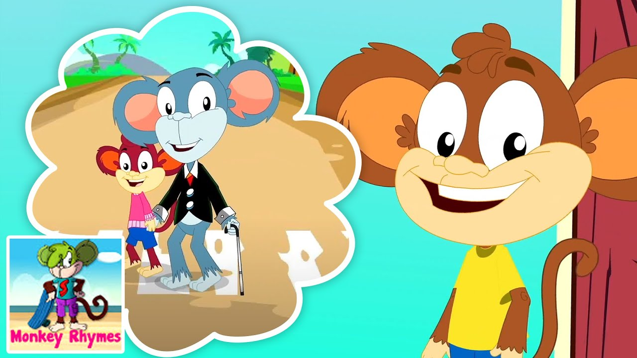 For He's Jolly Good Fellow | Nursery Rhymes and Baby Songs | Children Song with Monkey Rhymes