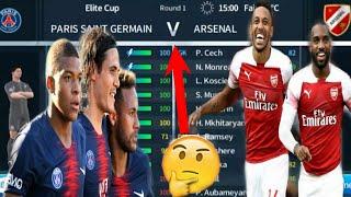 Arsenal vs Paris Saint German Elite Cup ● Dream League Soccer 2018 Full HD