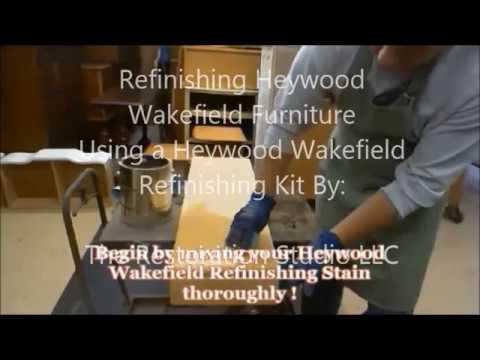 Refinishing Heywood Wakefield Furniture
