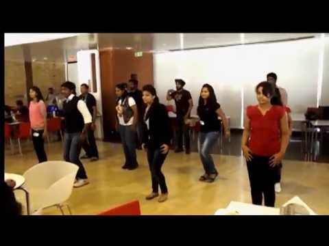 Flash Mob - Cisco Systems,Bangalore - Youth For Seva