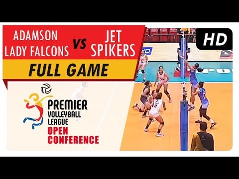 Lady Falcons vs. Jet Spikers | WV Full Game | 1st Set | PVL Open Conference | July 29, 2017