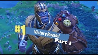 Fortnite: Infinity Gauntlet! Thanos is a Cheat Code!