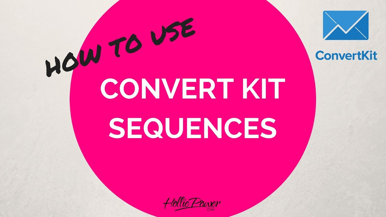 10 Simple Techniques For Convertkit Sequences