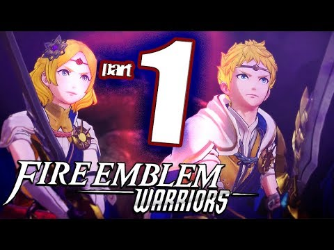 Fire Emblem Warriors - Walkthrough Part 1 Crumbling Peace (English)